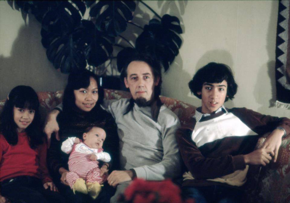 Mia Livingston and family